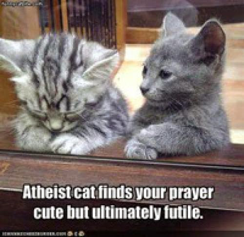 Too Weak To Be An Atheist