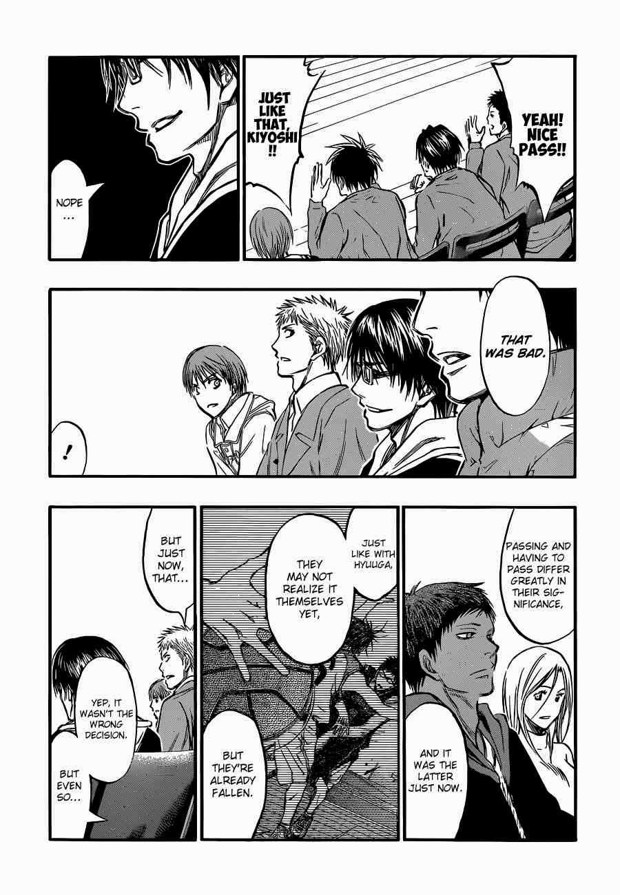 Kuroko no Basket Manga Chapter 244 - Image 15