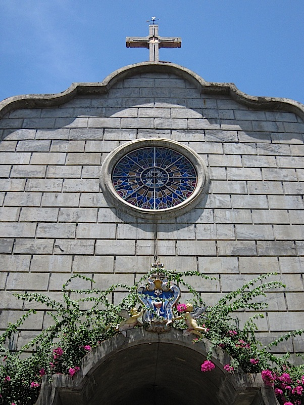 facade of the Agoo Basilica