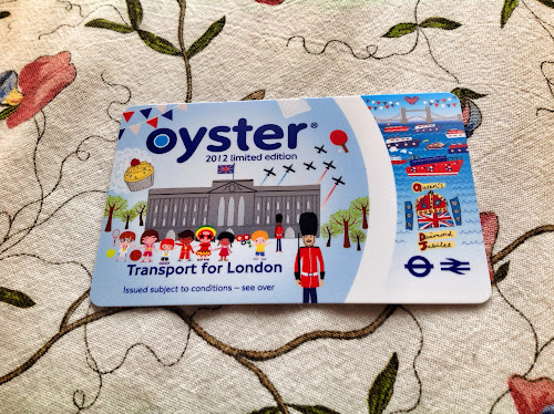Oyster Card Jubilee Limited Edition