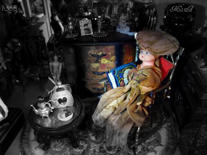 "Добрая Ведьма ""Mrs A ikdienā un svētkos"" Photo"
