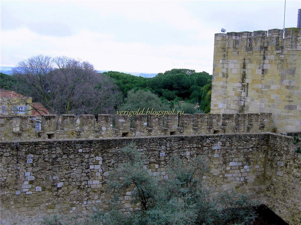 Лиссабон Замок Святого Георгия