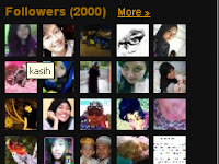 Blog aku dapat 2000..!!