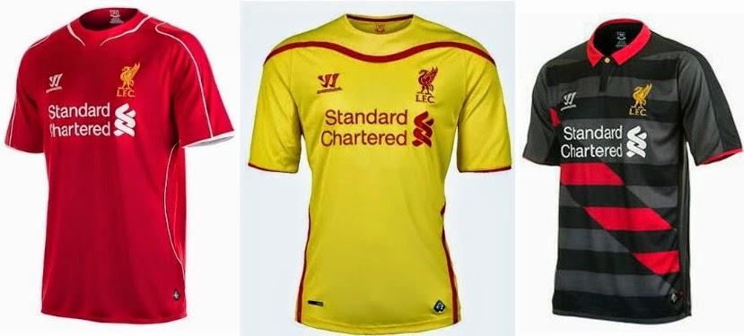 4b2f0a038 Football Jerseys 2014-2015 Official Team Kits Release Dates