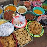 Sasak food stall during Ramadan on Lombok Island
