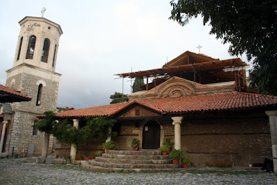 Exterior of the church of Sveti Kliment in Ohrid Macedonia