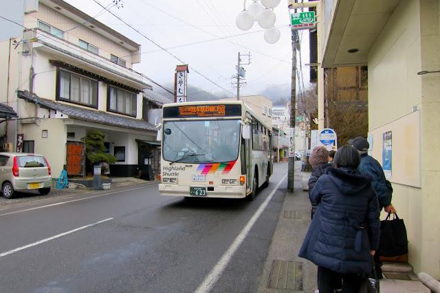 ホットプラザ浅間前 バス停