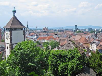 Über den Dächern der Stadt