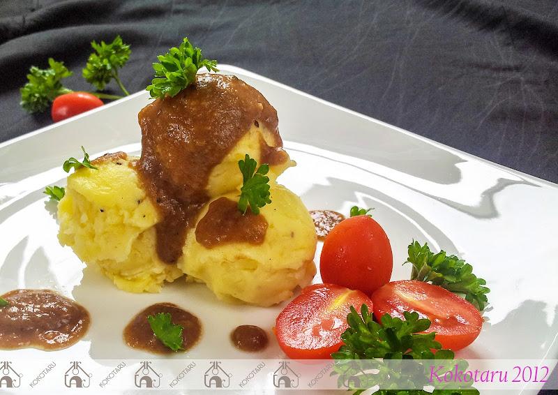 khoai tây nghiền