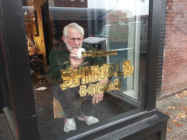 glass gilding - shinola washington dc