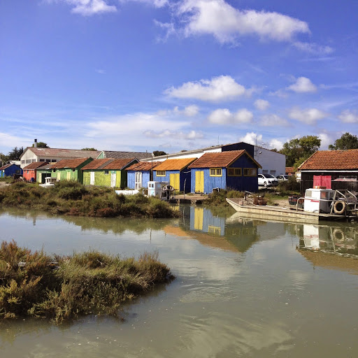 Oyster shacks on the Atlantic coast. From 100 Places in France Every Woman Should Go