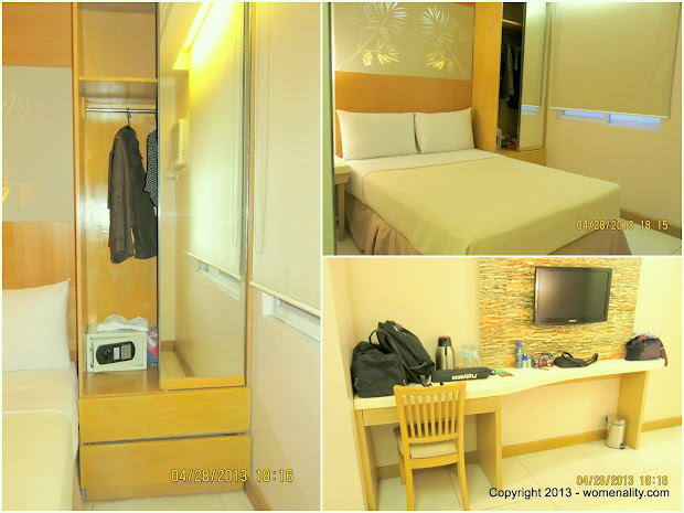 Chalet Baguio, Inside Room with LCD, Cabinet and Safe