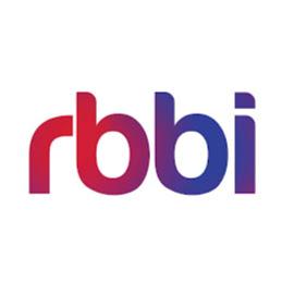 Red Blue Blur Ideas (RBBi) logo