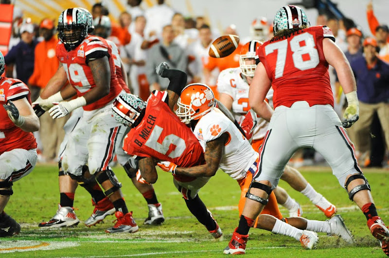 Orange Bowl vs OSU Photos - 2014, Bashaud Breeland, Bowl Game, Football, Ohio State