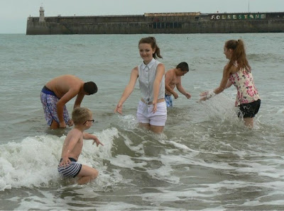 Summer holiday memories with family