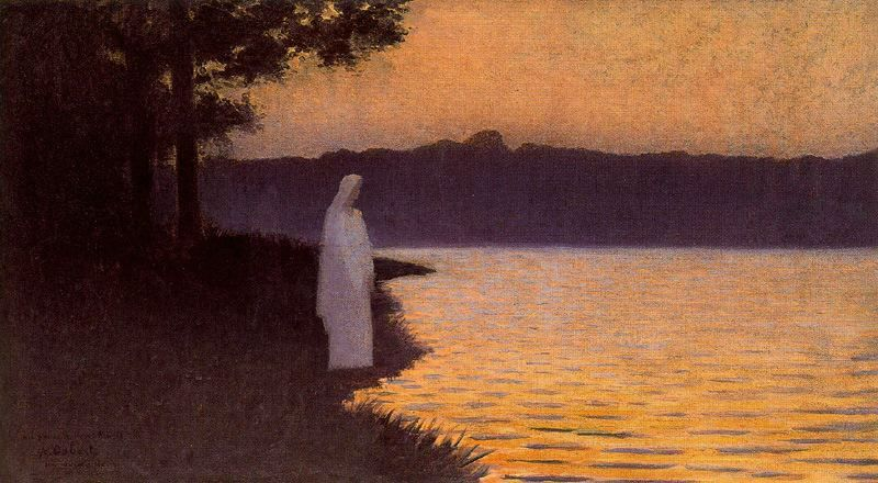 Alphonse Osbert - La Calme d`eau