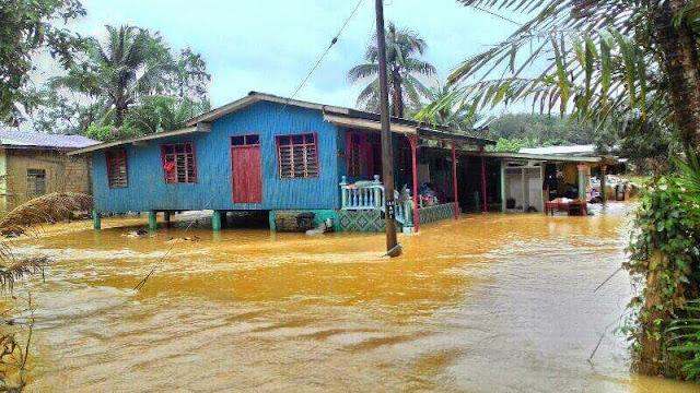 Kuala Krai Banjir Lagi