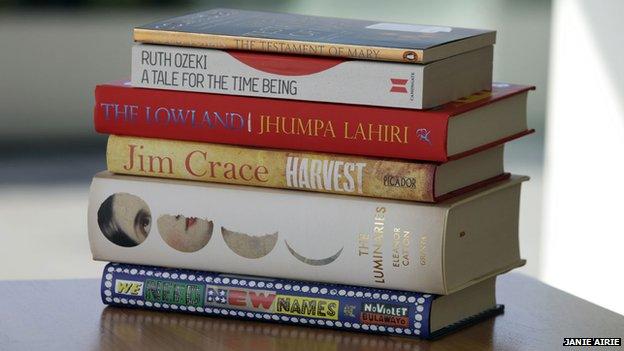 A 2013-as Man Booker-díjra jelölt könyvek