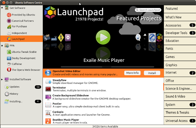 Integrating Software Center with Launchpad in Ubuntu