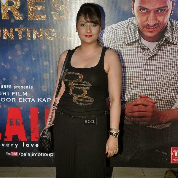 Urvashi Dholakia attends during the success party of Bollywood movie 'Ek Villain', held at Ekta Kapoor's residence on July 15, 2014.(Pic: Viral Bhayani)