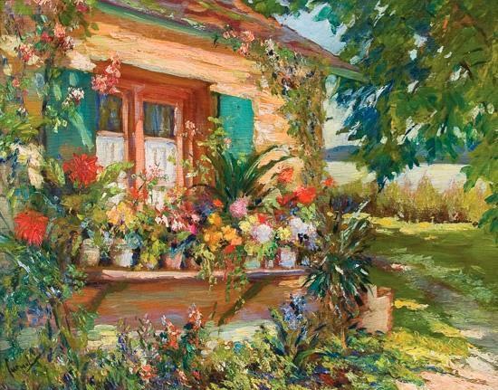 Edward Cucuel - The Bavarian Window