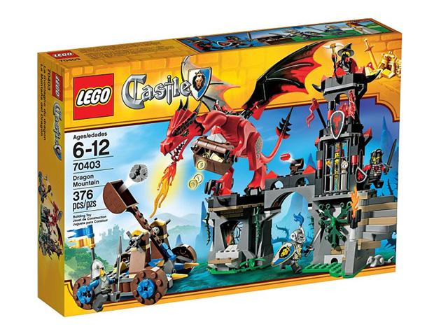 70403 レゴ キャッスル ドラゴン・マウンテン
