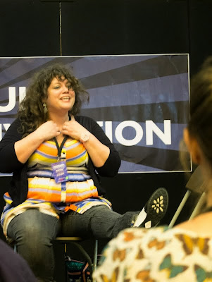Rainbow Rowell at London YA Lit Con (YALC)