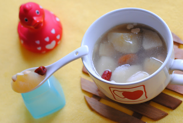 easy apple pear soup recipe by ServicefromHeart