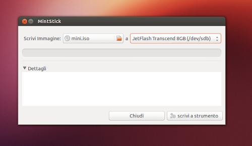 MintStick su Ubuntu 12.10