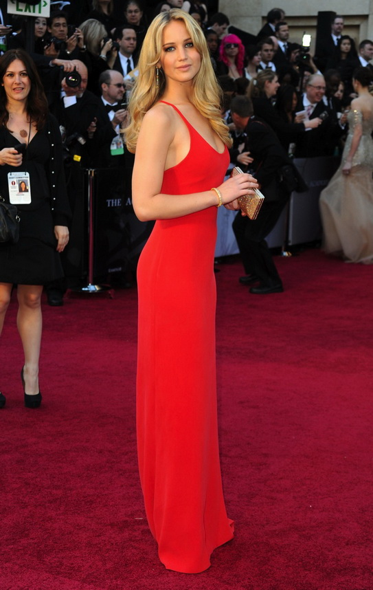 """... Jennifer Lawrence Was The """"Big"""" Winner At The Oscars 4 
