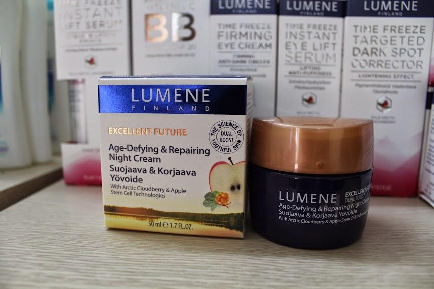 Kem dưỡng da ngày chống lão hóa mạnh Lumene Excellent Future 50 ml -Mỹ phẩm thiên nhiên Lumene