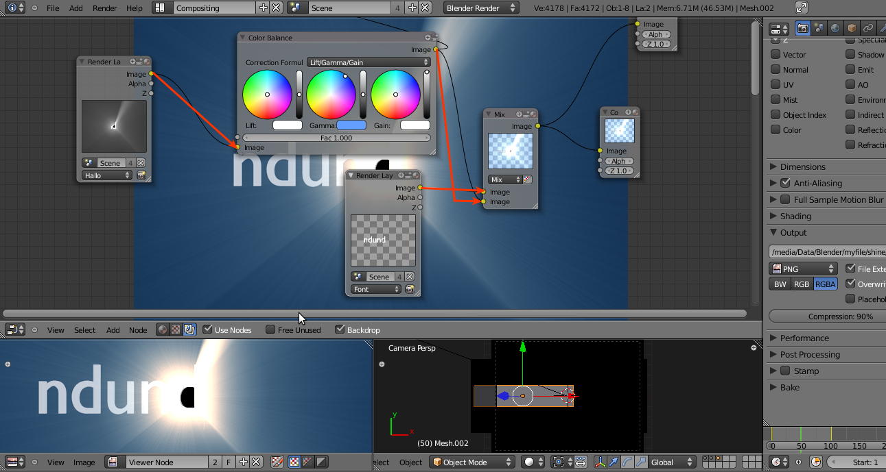 Render Multi Layer untuk Compositing Blender 6