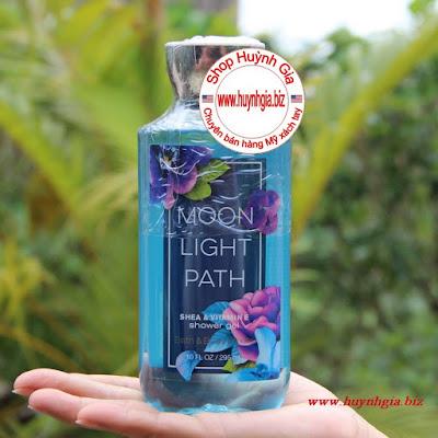 Sữa tắm dưỡng da Bath and body works Moonlight Path Shower Gel hàng mỹ xách tay www.huynhgia.biz