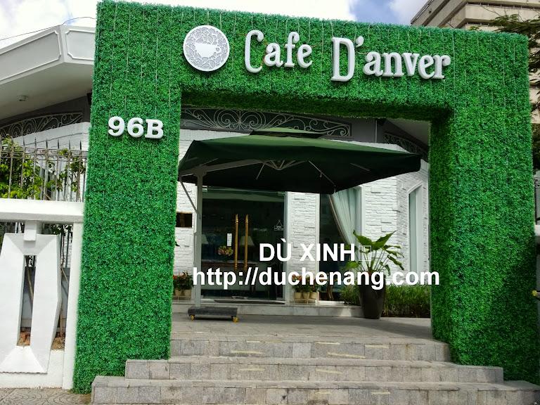 dù che nắng tại cafe Danver