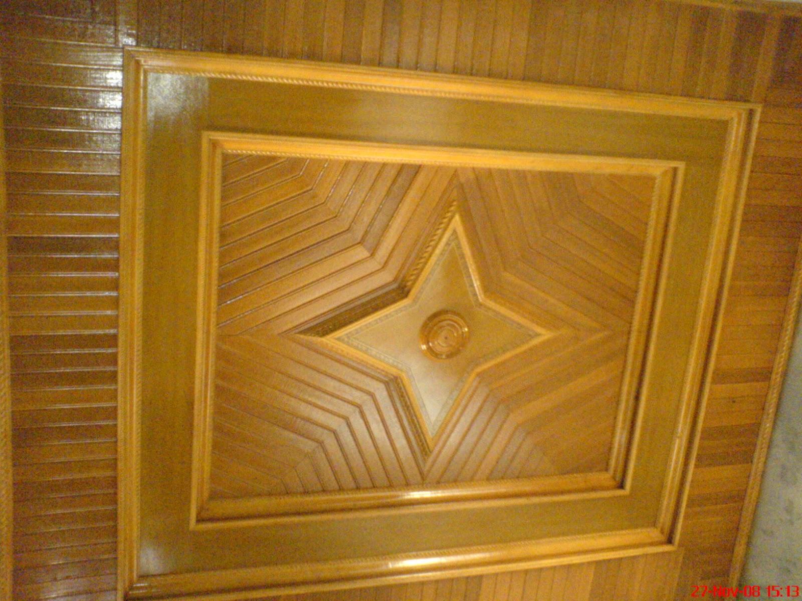 Bunda Profil: Foto plafon kayu cantik