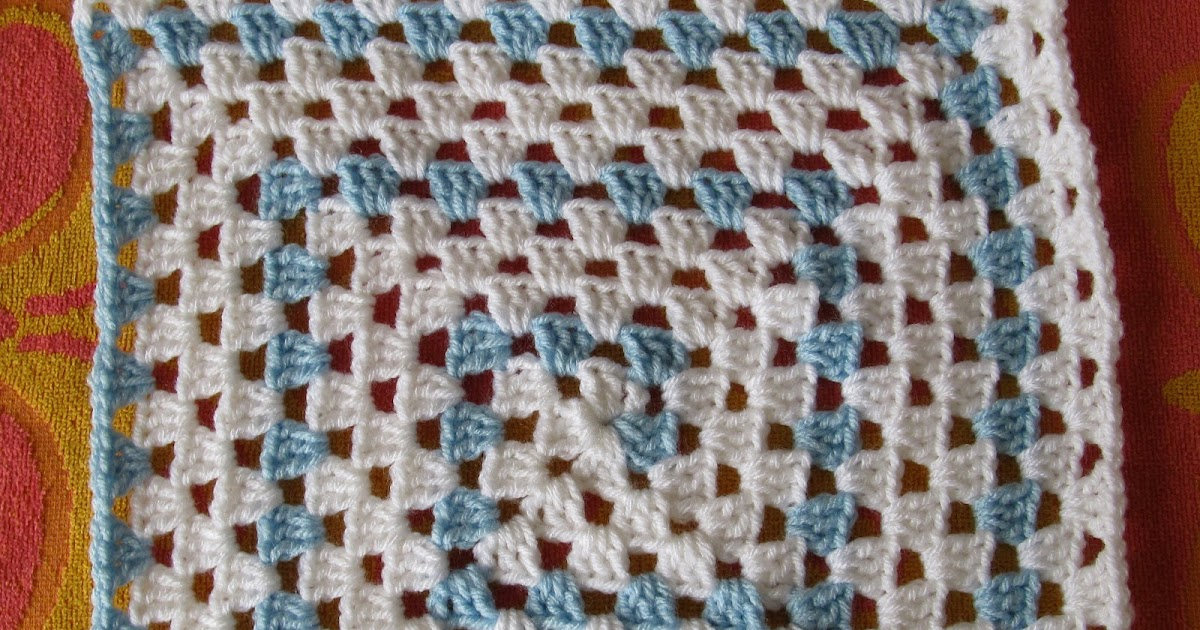 Smoothfox Crochet And Knit Smoothfoxs Spiral Granny Square Or