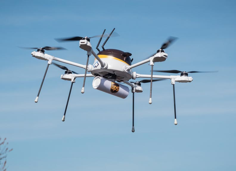 UPS And CyPhy Works Test Drone For Urgent Commercial Delivery