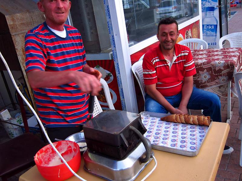 Waffle cone maker in Egirdir