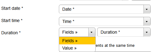 Google Calendar - Event duration