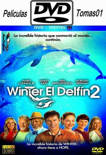 La Gran Aventura de Winter el Delfín 2 (2014) DVDRip