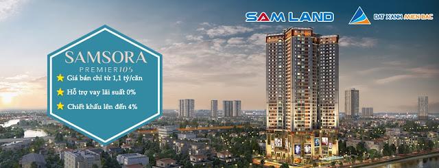 Giá bán dự án Samsora Premier 105