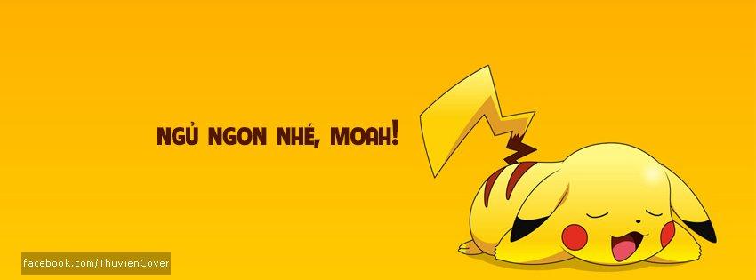 Ảnh bìa Pikachu Chúc Ngủ Ngon