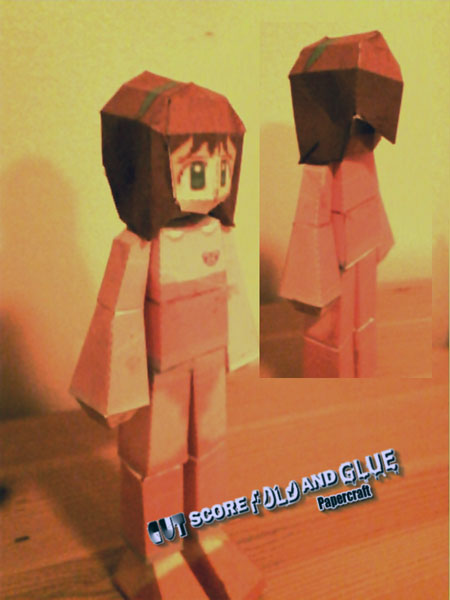 Mega Man Legends Ira Papercraft