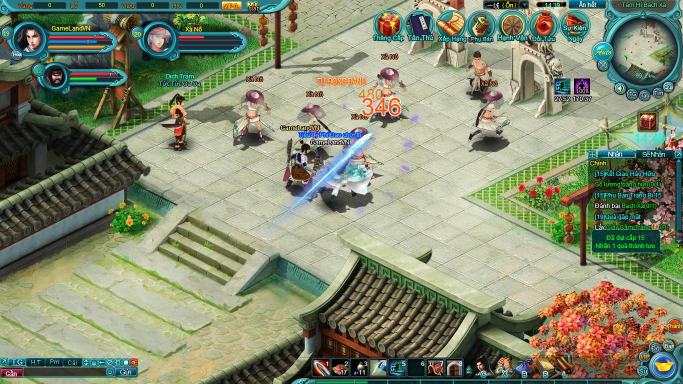Hình ảnh thử nghiệm webgame Tiểu Lý Phi Đao - Ảnh 12