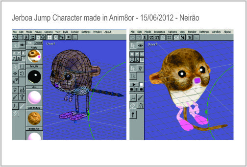 Jerboa Jump (GAME for IOS and ANDROID)-Character made