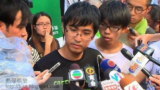 學聯秘書長周永康 (圖片:香港電台)