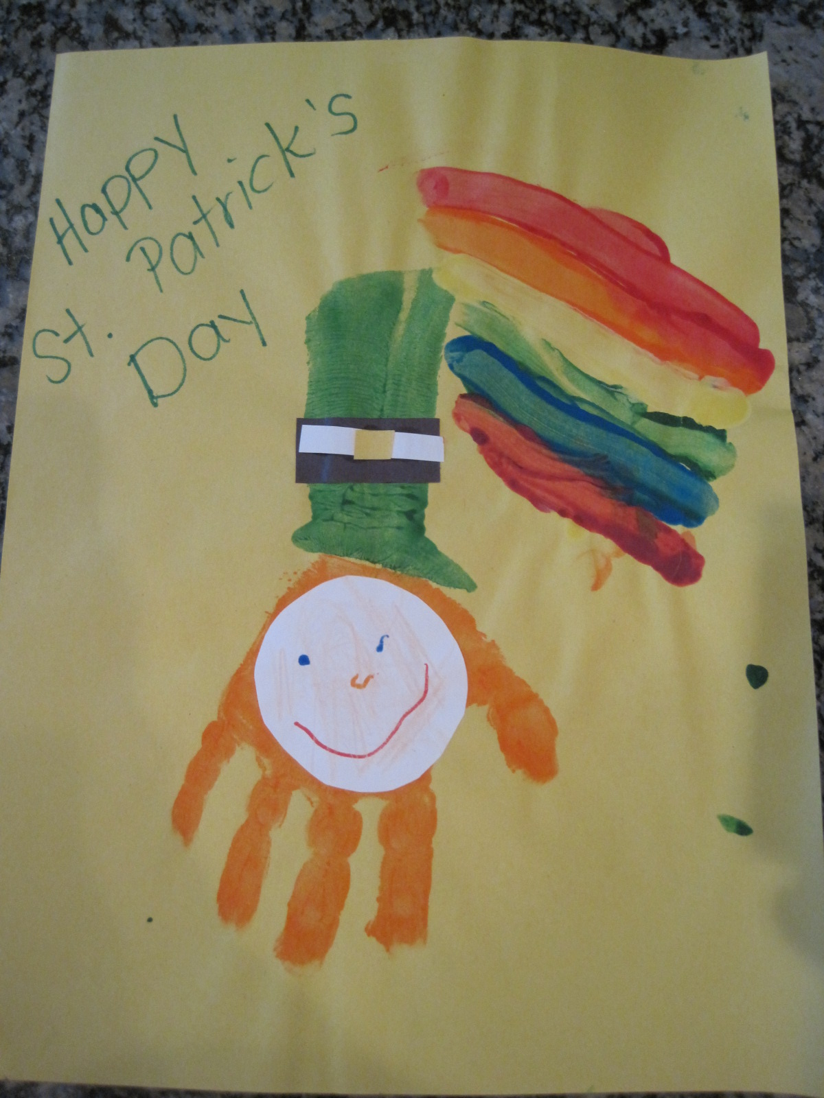 Arts and crafts for 3 year old - St Patrick S Day Crafts Of Old