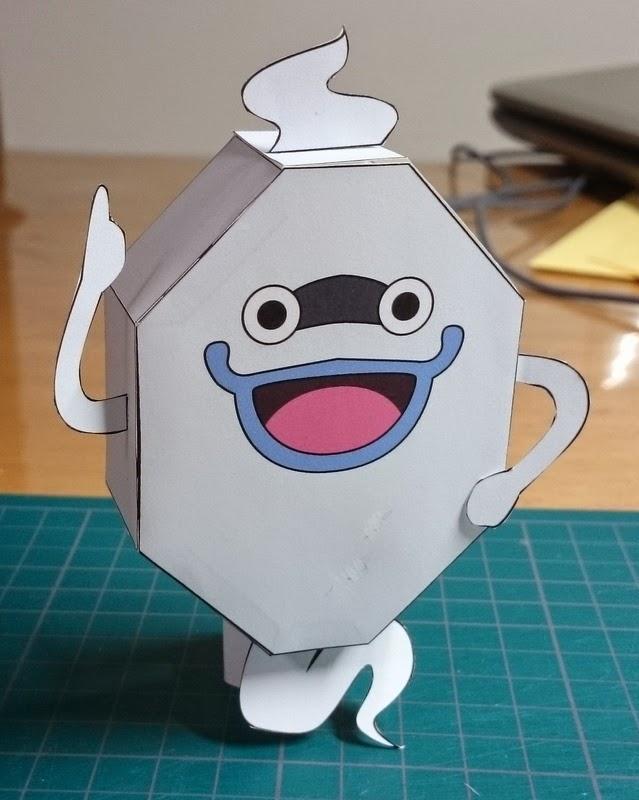 Yokai Watch Whisper Papercraft