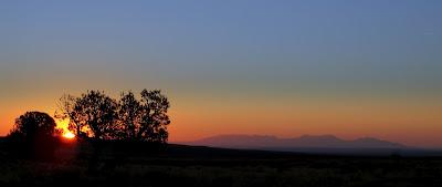 Sunday's sunrise