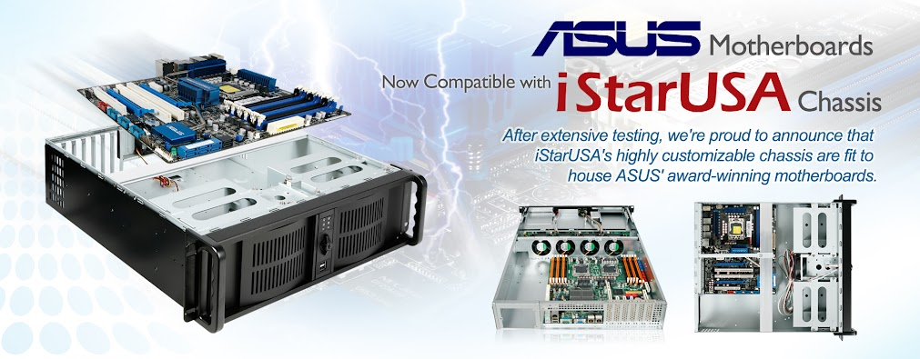 ASUS and iStarUSA Team Up